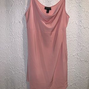 Pink spaghetti strap dress